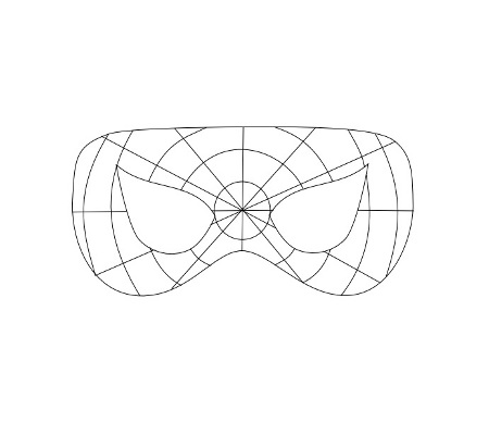 Маска Человека паука своими руками: из ткани, из бумаги 84