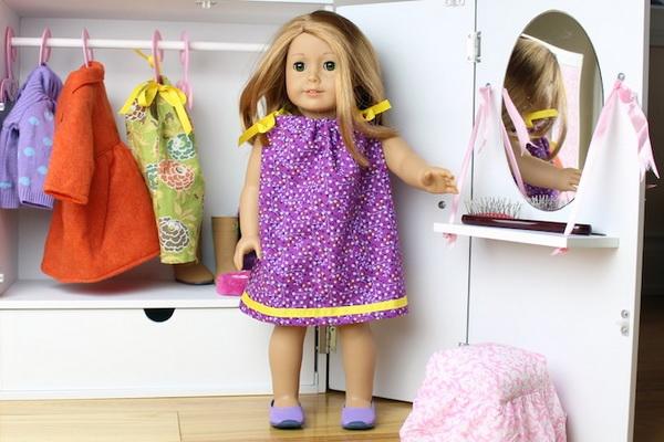 Как быстро сшить платье для куклы фото 856