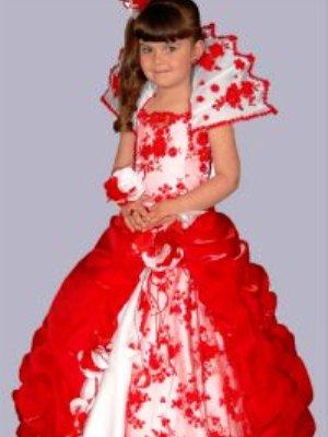 детские пышные платья для девочек фото
