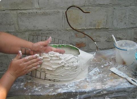 Кашпо своими руками из гипса фото 336