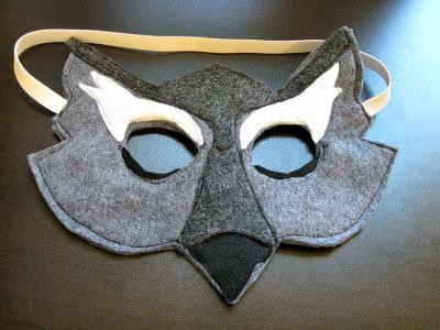 Как сделать маску волка видео фото 272