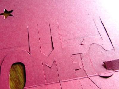 Объемные открытки буквы руками