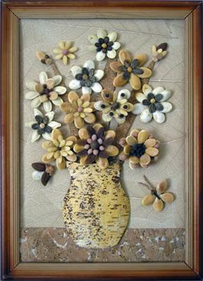 Поделки из семян арбуза фото