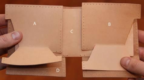 Женская сумка из кож-заменителя: выкройка и мастер 69