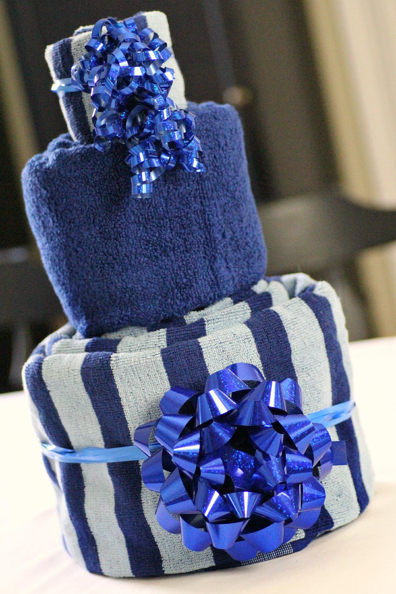 Подарки из полотенец своими руками
