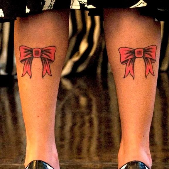 Тату бантик фото лучших готовых татуировок как идея для тату 15