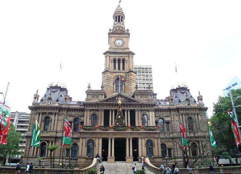 Картинки по запросу Сиднейская Ратуша Sydney Town Hall