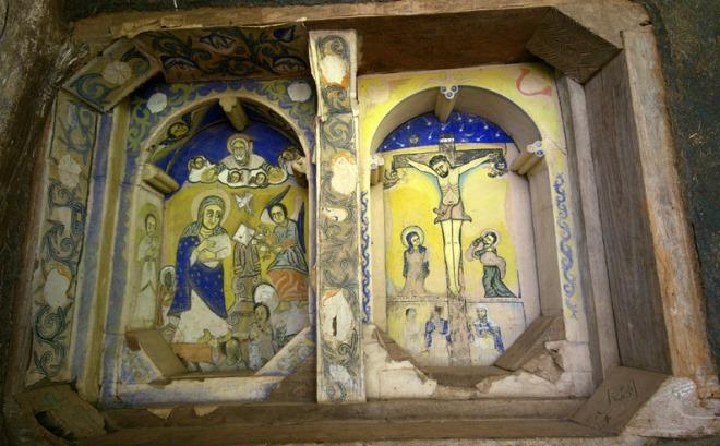 Эфиопские иконы
