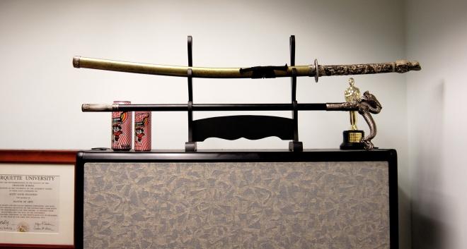 Ðкспонат музея японских мечей