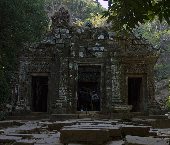 Главное святилище Ват-Пху