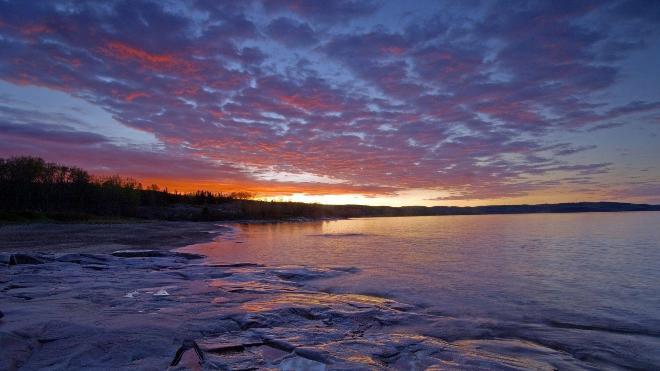 Озеро Верхнее - красивые фото