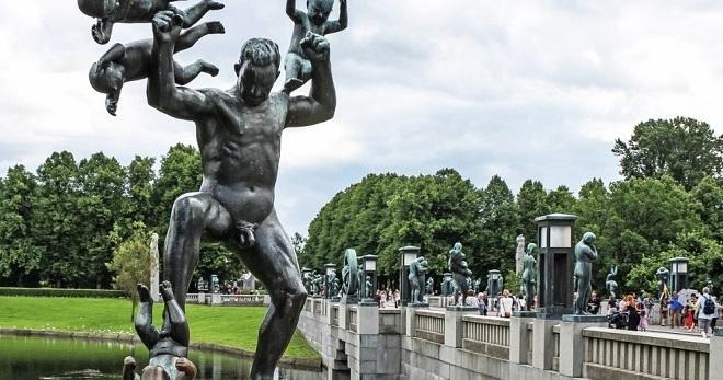 Секс парку вигеланда в осло