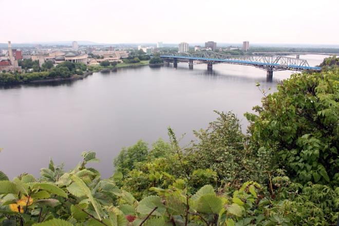 Река Оттава - приток реки Святого Лаврентия