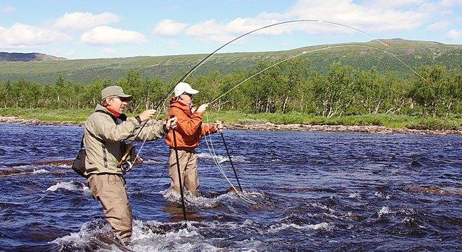 Рыбалка на озере Стуршен