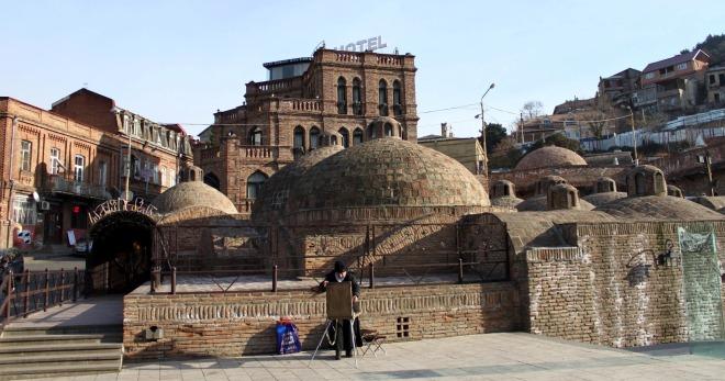 Серные бани в тбилиси история