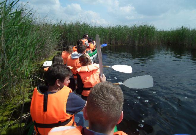 Водный туризм на озере Веленце