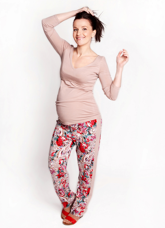 теплые штаны для беременных на зиму