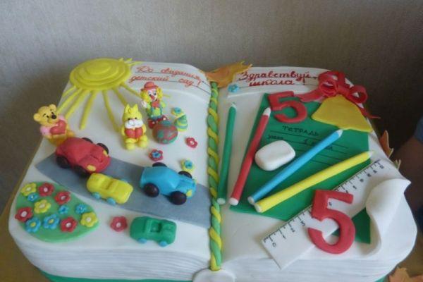 Прощай детский сад картинки на торт