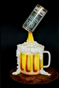 торт пивная киужка рецепт с фото