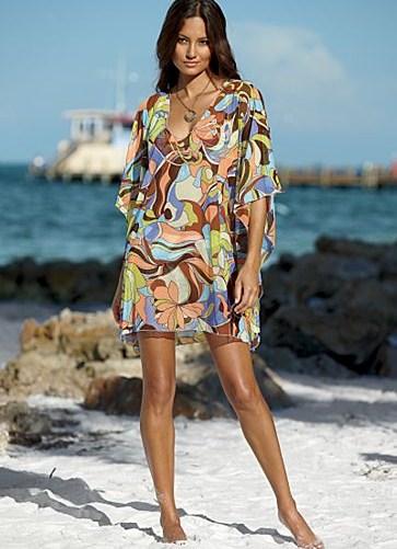 Где купить пляжное платье туника