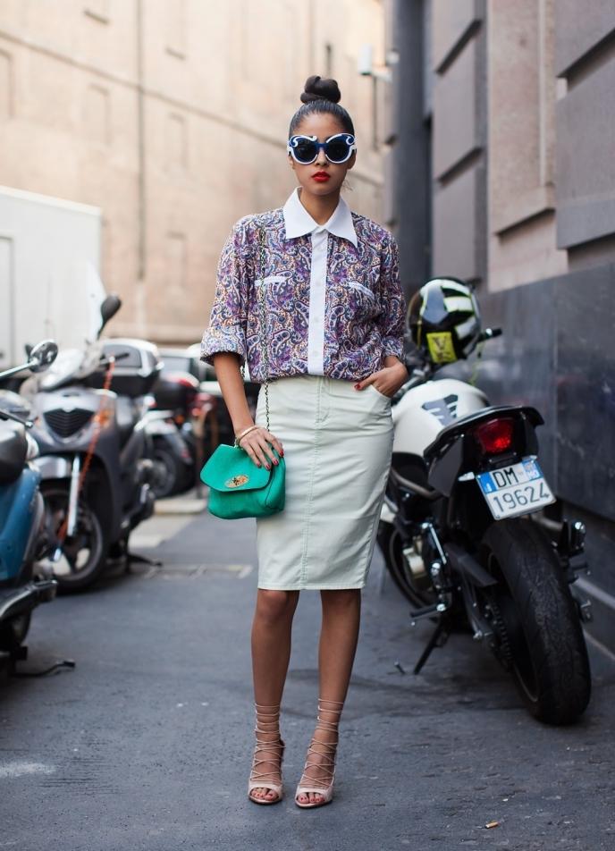 Если хотите почувствовать себя итальянской модницей, то играйте с фактурой  и цветом, и не забывайте про легкую небрежность. e74cf4524f4