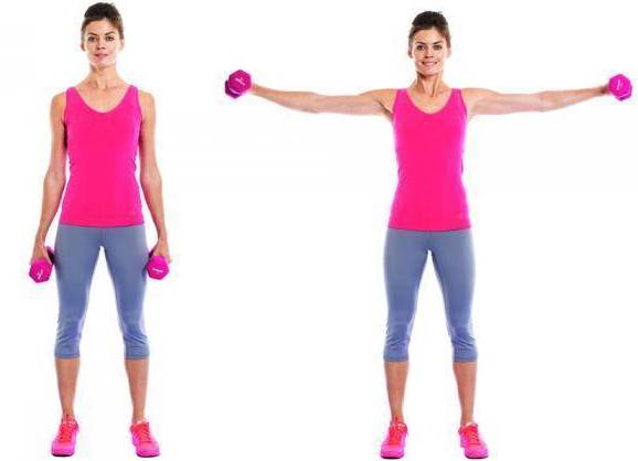 Упражнения похудения груди женщине