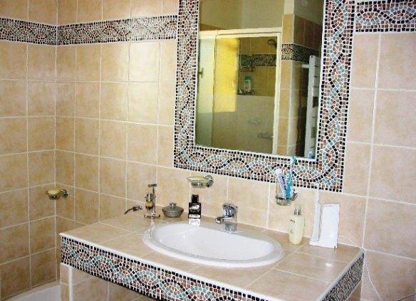ванная из мозаики фото