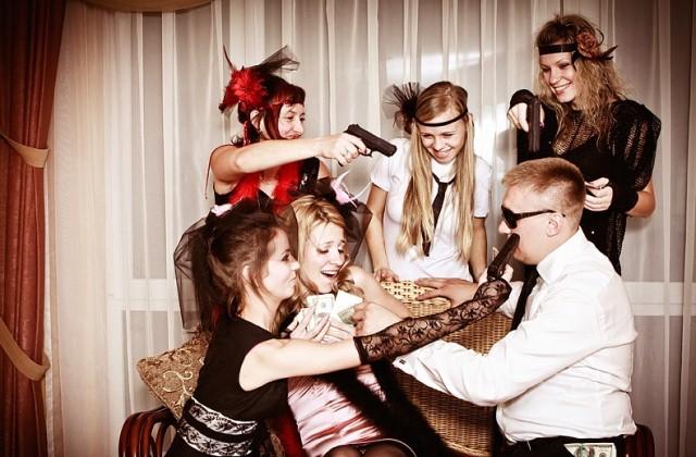 Вечеринка в гангстерском стиле aa2e7380123