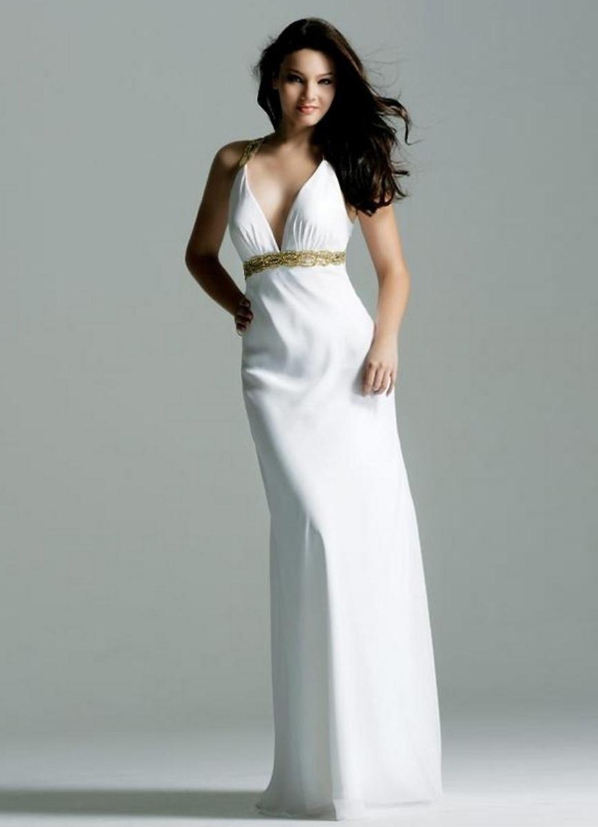 203e518ad12d Вечерние белые платья