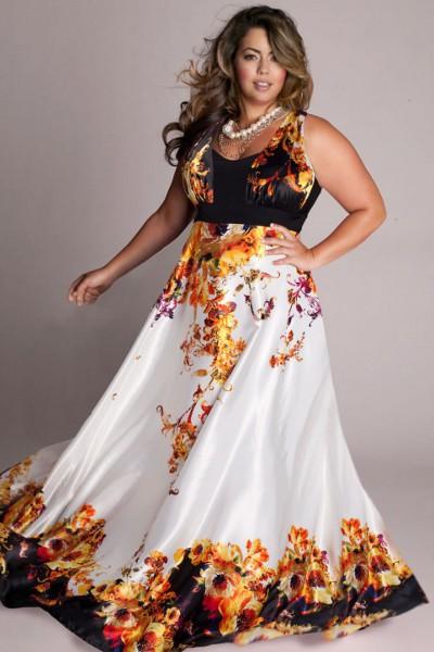61d2eea95d1a799 Вечерние платья для полных девушек