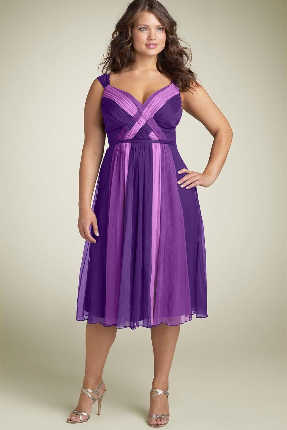 Вечернее платье для полных женщин фото на свадьбу
