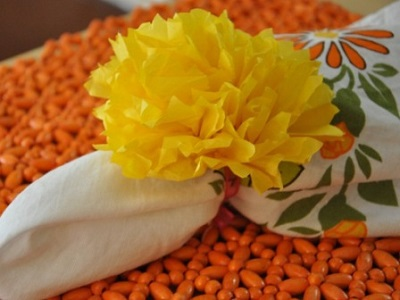 цветы из салфеток своими руками_1