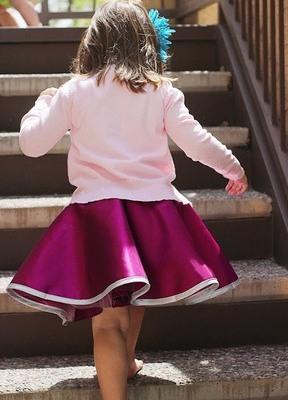 Сшить пышную юбку для девочки