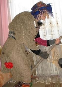 Как сделать костюм Бабы Яги своими руками - ФОТО 9