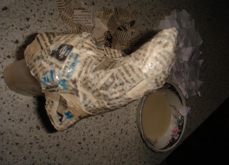 Как сделать нос бабы яги из папье 657