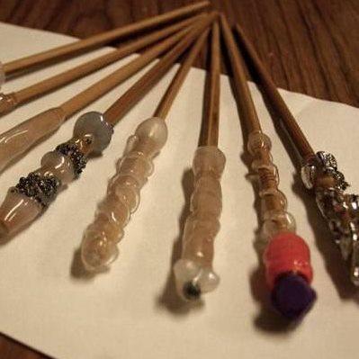 Как сделать волшебную палочку настоящую с магией в домашних условиях 80