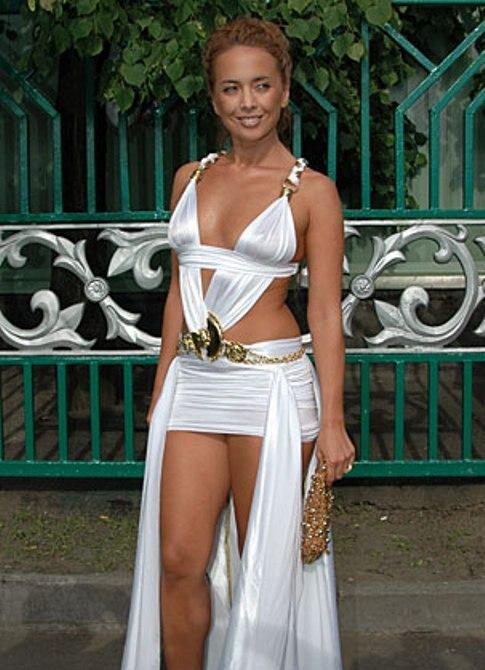 Жанна фриске в белом платье