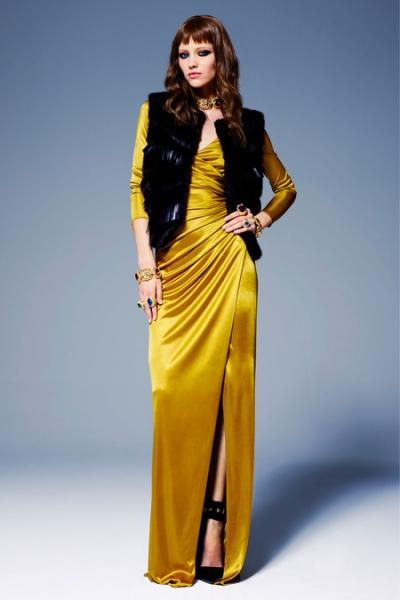 61e0659f027 Желтое платье в пол 4 ...