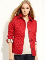 Женские демисезонные стеганные куртки