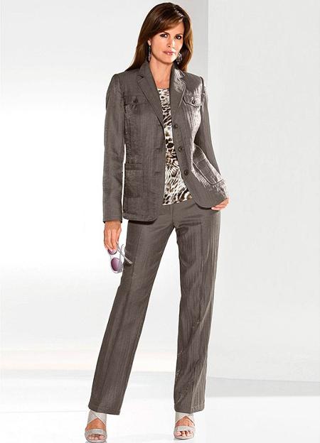 Женские классические брюки 496d352b0d314