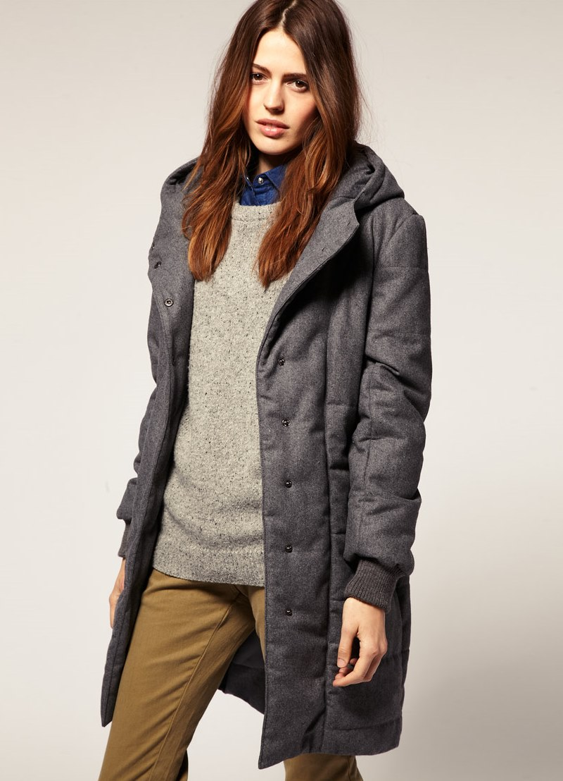 Женское пальто на синтепоне изоражения